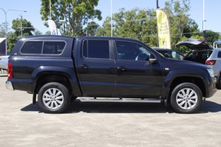 2015 Volkswagen Amarok 2H MY16 TDI420 4Motion Perm Highline Black 8 Speed Automatic Utility.