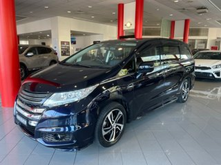 2016 Honda Odyssey RC MY16 VTi-L Black 7 Speed Constant Variable Wagon.
