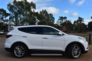 2015 Hyundai Santa Fe DM3 MY16 Highlander White 6 Speed Sports Automatic Wagon.