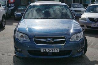 2006 Subaru Liberty B4 MY06 Safety Pack AWD Blue 5 Speed Manual Sedan.