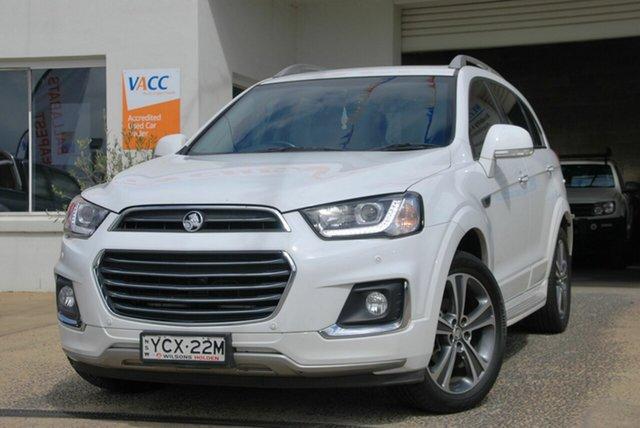 Used Holden Captiva CG MY16 7 LTZ (AWD) Wendouree, 2016 Holden Captiva CG MY16 7 LTZ (AWD) White 6 Speed Automatic Wagon