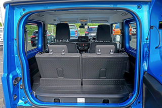 2019 Suzuki Jimny JB74 GLX Blue 5 Speed Manual Hardtop