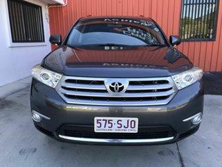 2011 Toyota Kluger GSU45R MY11 KX-S AWD Grey 5 Speed Sports Automatic Wagon.