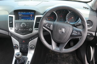 2014 Holden Cruze JH Series II MY14 Equipe Silver 5 Speed Manual Sedan