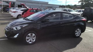 2015 Hyundai Elantra MD3 Active Black 6 Speed Sports Automatic Sedan