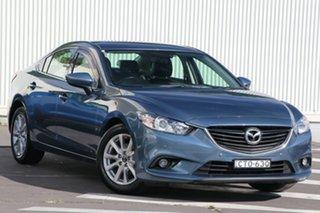 2014 Mazda 6 GJ1031 MY14 Touring SKYACTIV-Drive Blue Reflex 6 Speed Sports Automatic Sedan.