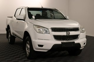 2016 Holden Colorado RG MY16 LS Crew Cab 4x2 White 6 speed Automatic Utility.