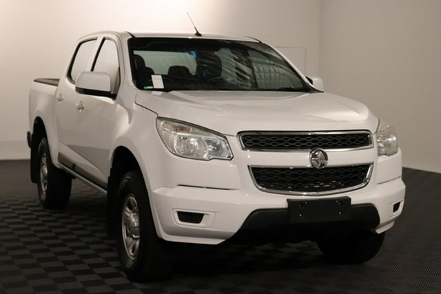 Used Holden Colorado RG MY16 LS Crew Cab 4x2 Acacia Ridge, 2016 Holden Colorado RG MY16 LS Crew Cab 4x2 White 6 speed Automatic Utility