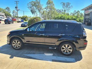 2008 Mitsubishi Outlander ZG MY09 VR-X Black 6 Speed Sports Automatic Wagon