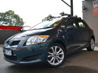 2008 Toyota Corolla ZRE152R Ascent Green 6 Speed Manual Hatchback