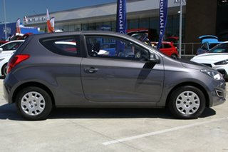2014 Hyundai i20 PB MY14 Active Grey 6 Speed Manual Hatchback.