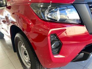 2020 Nissan Navara D23 MY21 SL 4x2 Burning Red 7 Speed Sports Automatic Utility.