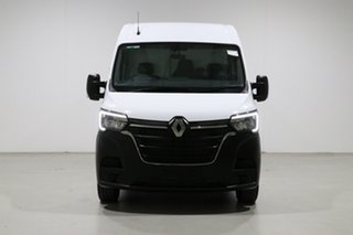 2020 Renault Master X62 Phase 2 MY20 Pro MWB FWD (110kW) L2H2 White 6 Speed Automated Manual Van.