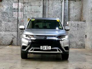 2018 Mitsubishi Outlander ZL MY19 ES AWD Silver 6 Speed Constant Variable Wagon.