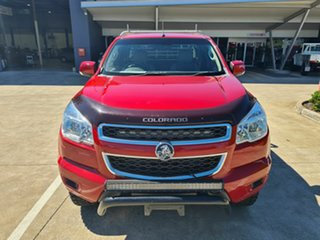 2013 Holden Colorado RG MY13 LX Space Cab Red 5 Speed Manual Cab Chassis