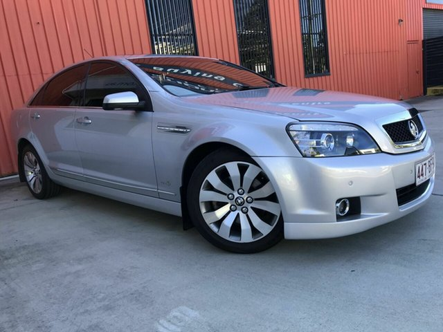 Used Holden Caprice WM II MY12.5 V Molendinar, 2013 Holden Caprice WM II MY12.5 V Silver 6 Speed Sports Automatic Sedan
