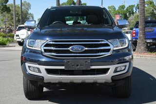 2020 Ford Everest UA II 2020.25MY Titanium Crystal Blue 10 Speed Sports Automatic SUV