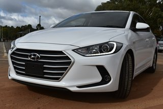 2017 Hyundai Elantra AD MY18 Active White 6 Speed Sports Automatic Sedan.