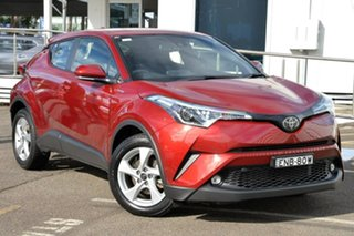 2019 Toyota C-HR NGX10R S-CVT 2WD Burgundy 7 Speed Constant Variable Wagon.