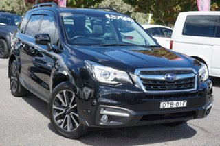 2017 Subaru Forester S4 MY17 2.5i-S CVT AWD Black 6 Speed Constant Variable Wagon.
