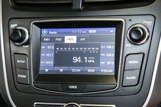 2017 Hyundai Accent RB6 MY18 Sport Silver 6 Speed Sports Automatic Sedan