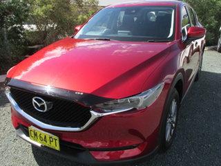 2017 Mazda CX-5 KF4W2A Maxx SKYACTIV-Drive i-ACTIV AWD Sport Red 6 Speed Sports Automatic Wagon.