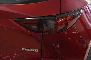 2021 Mazda CX-5 KF2W7A Maxx SKYACTIV-Drive FWD Sport Red 6 Speed Sports Automatic Wagon