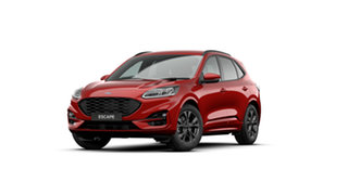 2021 Ford Escape ZH 2021.25MY ST-Line Red 8 Speed Sports Automatic SUV.