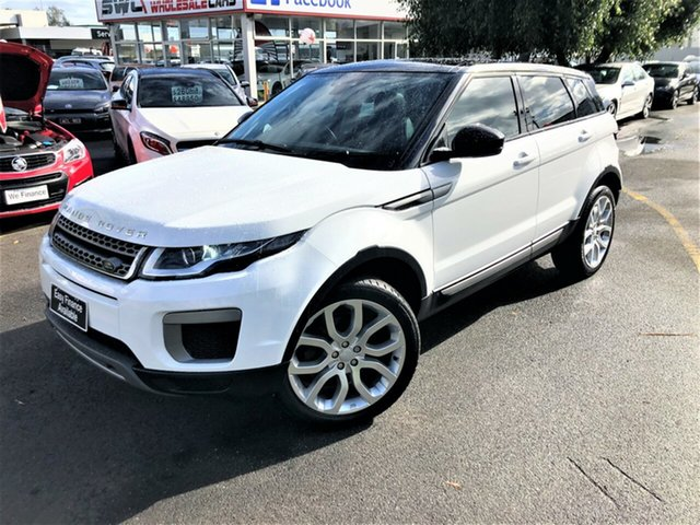 Used Land Rover Range Rover Evoque L538 MY17 TD4 150 SE Seaford, 2016 Land Rover Range Rover Evoque L538 MY17 TD4 150 SE White 9 Speed Sports Automatic Wagon