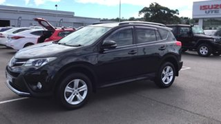 2014 Toyota RAV4 ASA44R MY14 GXL AWD Black 6 Speed Sports Automatic Wagon
