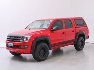 2016 Volkswagen Amarok 2H MY16 TDI420 Core Edition (4x4) Red 8 Speed Automatic Dual Cab Utility.