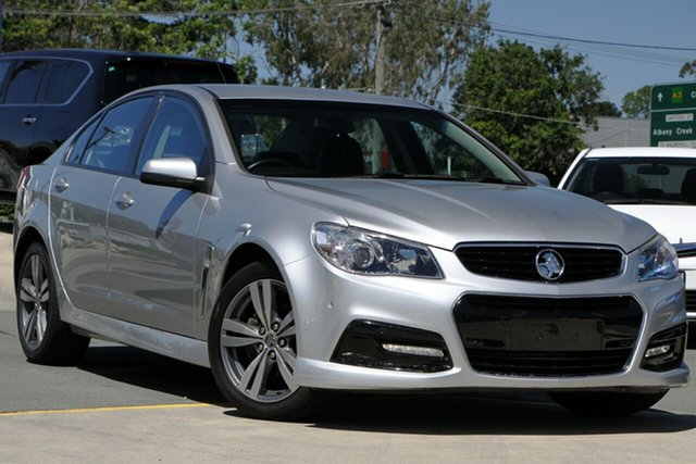 Used Holden Commodore VF MY15 SV6 Aspley, 2015 Holden Commodore VF MY15 SV6 Silver 6 Speed Sports Automatic Sedan