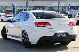 2013 Holden Commodore VF MY14 SS White 6 Speed Manual Sedan.