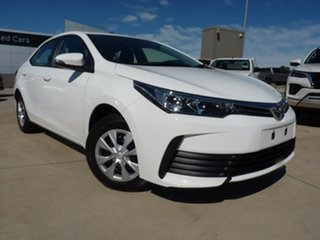 2019 Toyota Corolla ZRE172R Ascent S-CVT Diamond White 7 Speed Constant Variable Sedan