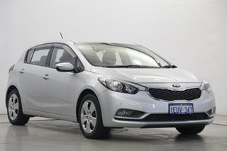2015 Kia Cerato YD MY15 S Silky Silver 6 Speed Sports Automatic Hatchback