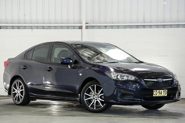 Used Subaru Impreza G5 MY17 2.0i CVT AWD West Gosford, 2017 Subaru Impreza G5 MY17 2.0i CVT AWD Blue 7 Speed Constant Variable Sedan