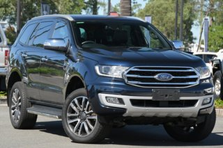 2020 Ford Everest UA II 2020.25MY Titanium Crystal Blue 10 Speed Sports Automatic SUV.