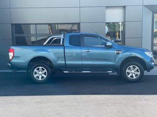 2014 Ford Ranger PX XLT Super Cab 4x2 Hi-Rider Blue 6 Speed Sports Automatic Utility.