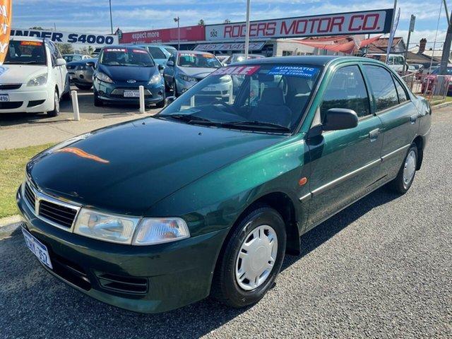 Used Mitsubishi Lancer CE GLi Victoria Park, 1998 Mitsubishi Lancer CE GLi Green 4 Speed Automatic Sedan