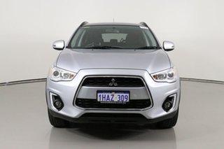 2016 Mitsubishi ASX XB MY15.5 LS (2WD) Silver Continuous Variable Wagon.