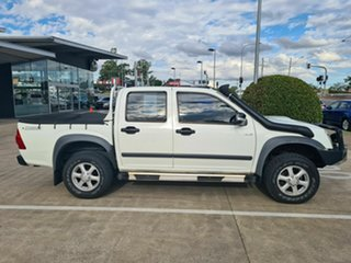 2009 Isuzu D-MAX MY09 LS-M White 4 Speed Automatic Utility.