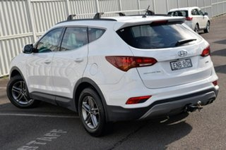 2017 Hyundai Santa Fe DM5 MY18 Active White 6 Speed Sports Automatic Wagon.