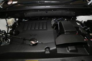 2015 Toyota Kluger GSU55R Grande AWD Pearl White 6 Speed Sports Automatic Wagon
