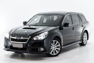 2013 Subaru Liberty B5 MY13 GT AWD Premium Black 5 Speed Sports Automatic Wagon.