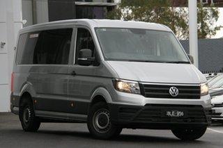 2019 Volkswagen Crafter MINIBUS TDI410 Silver 8 Speed Automatic Bus.