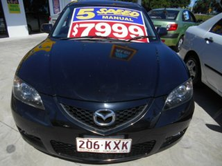 2008 Mazda 3 BK10F2 Maxx Sport Black 4 Speed Sports Automatic Sedan
