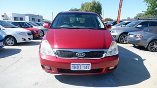 2011 Kia Grand Carnival VQ MY12 S Red 6 Speed Sports Automatic Wagon.