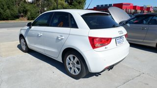 2012 Audi A1 8X MY12 Sport Sportback S Tronic White 7 Speed Sports Automatic Dual Clutch Hatchback