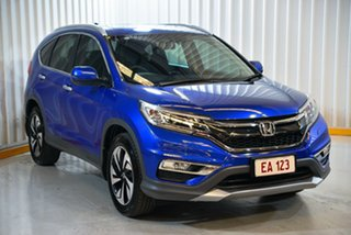 2015 Honda CR-V RM Series II MY16 VTi-L Blue 5 Speed Sports Automatic Wagon
