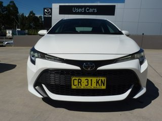 2018 Toyota Corolla Mzea12R Ascent Sport Diamond White 10 Speed Constant Variable Hatchback.